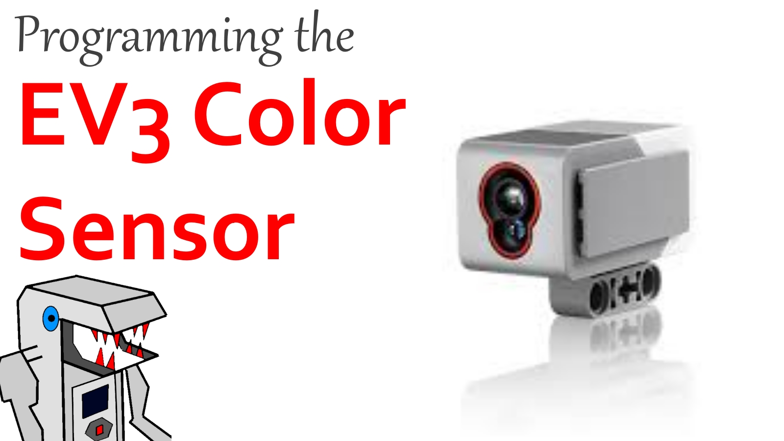 How to Program the EV3 Color Sensor – Builderdude35